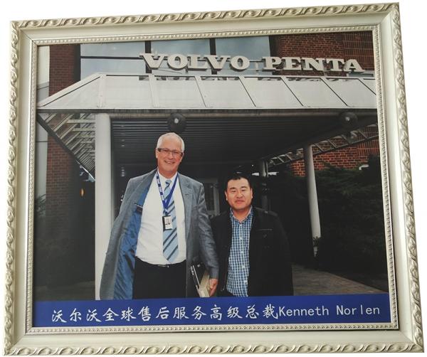 沃尔沃全球售后服务高级总裁Kenneth Nor Len